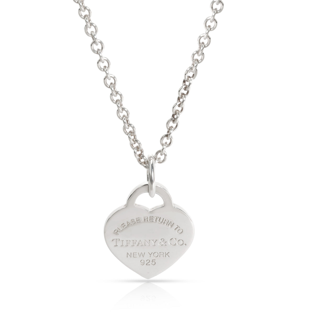 Tiffany & Co. Return to Tiffany Heart Tag Pendant in  Sterling Silver