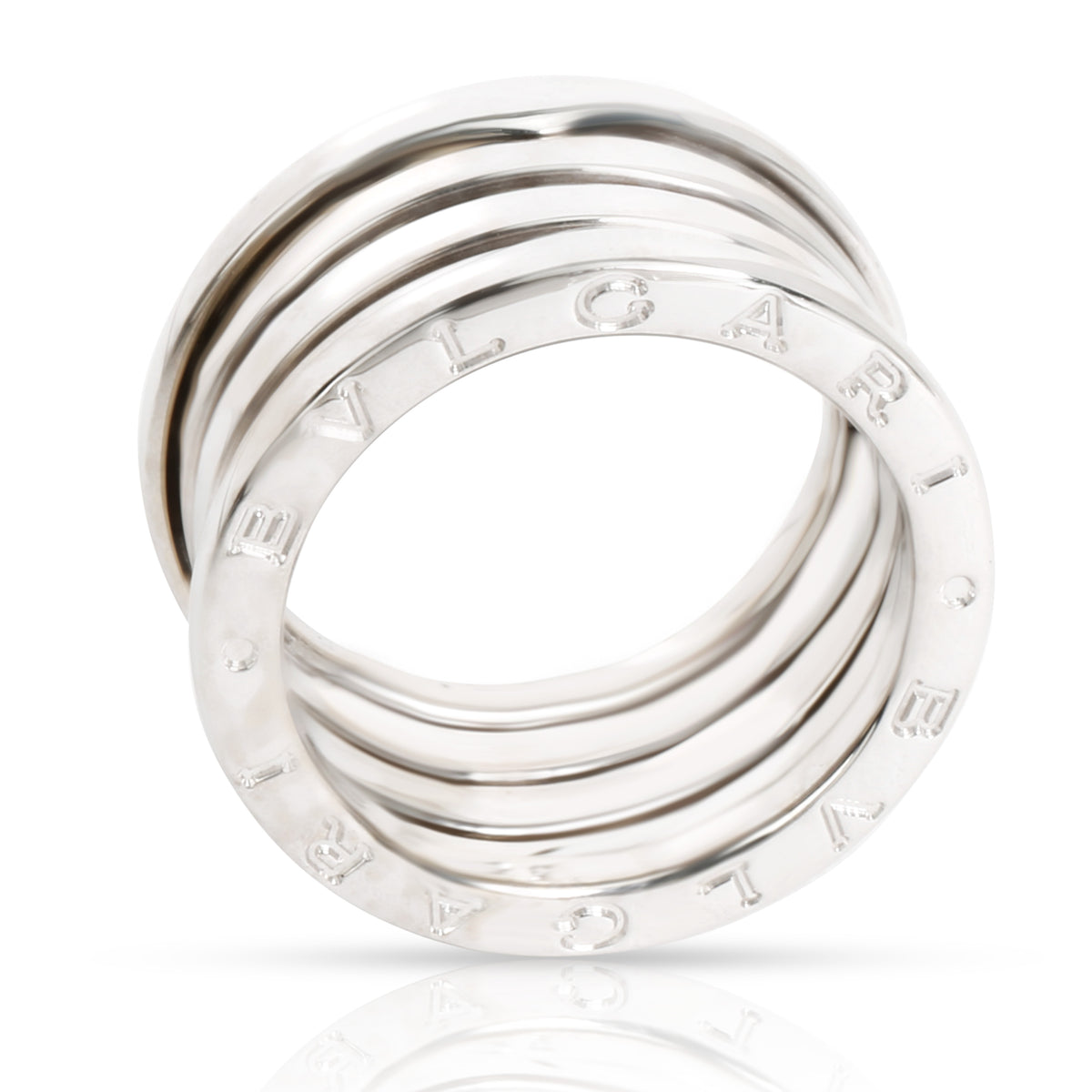 Bulgari B Zero Ring in 18K White Gold