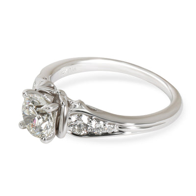 GIA Certified James Allen Diamond Engagement Ring in 14KT Gold J SI2 1.21 CTW