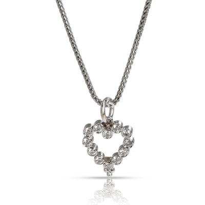 Temple St Clair Bezel Set Diamond Heart Pendant in 14K & 18K Gold