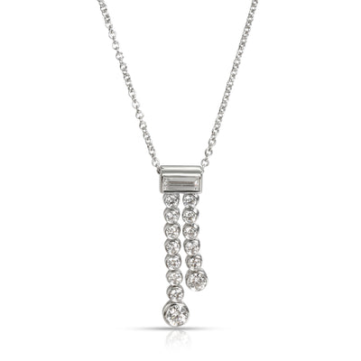 Tiffany & Co. Jazz Diamond Pendant in  Platinum 0.4 CTW