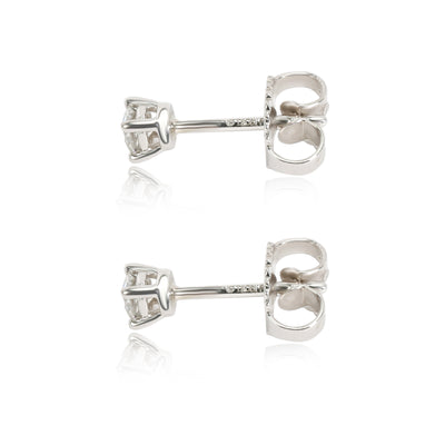 Tiffany & Co. Diamond Stud Earring in  Platinum 0.22 CTW