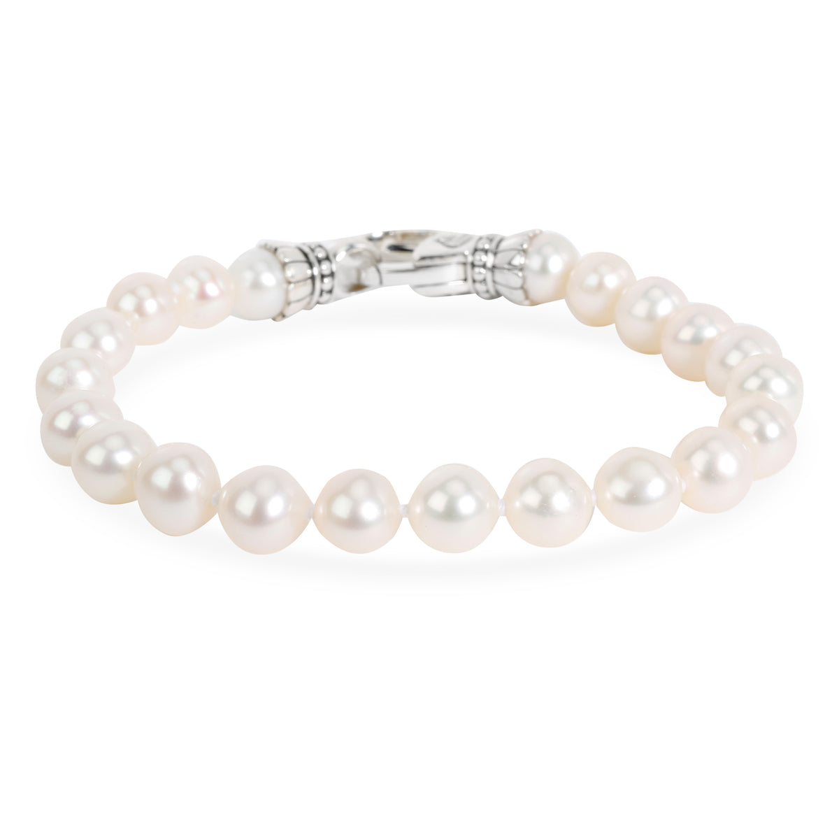 Lagos Pearl Bracelet in  Sterling Silver 7.5mm