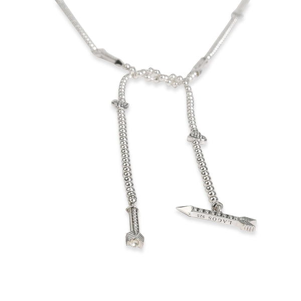 Lagos Beloved Hearts & Arrows Necklace in  Sterling Silver