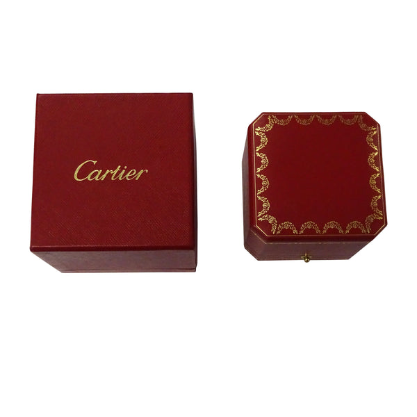 Cartier Micro Pave 2.3mm Diamond Band in 18K Rose Gold 0.15 CTW