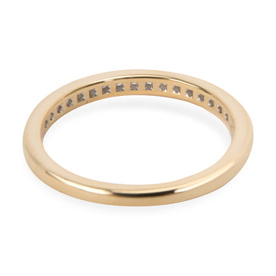 Tiffany & Co. Diamond Channel Set Wedding Band in 18K Yellow Gold 0.17 CTW