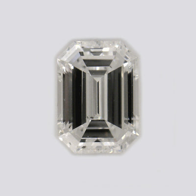 GIA Certified 0.51 Ct Emerald cut H SI2 Loose Diamond