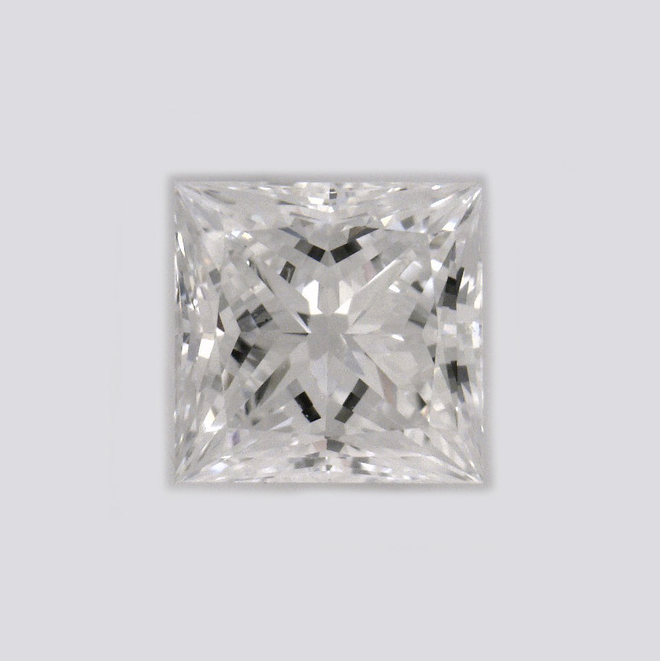 GIA Certified Princess cut, E color, VVS1 clarity, 0.5 Ct Loose Diamonds