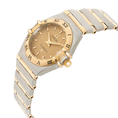 Omega Constellation 1262.10.00 Women's Watch in 18kt Stainless Steel/Yellow Gold