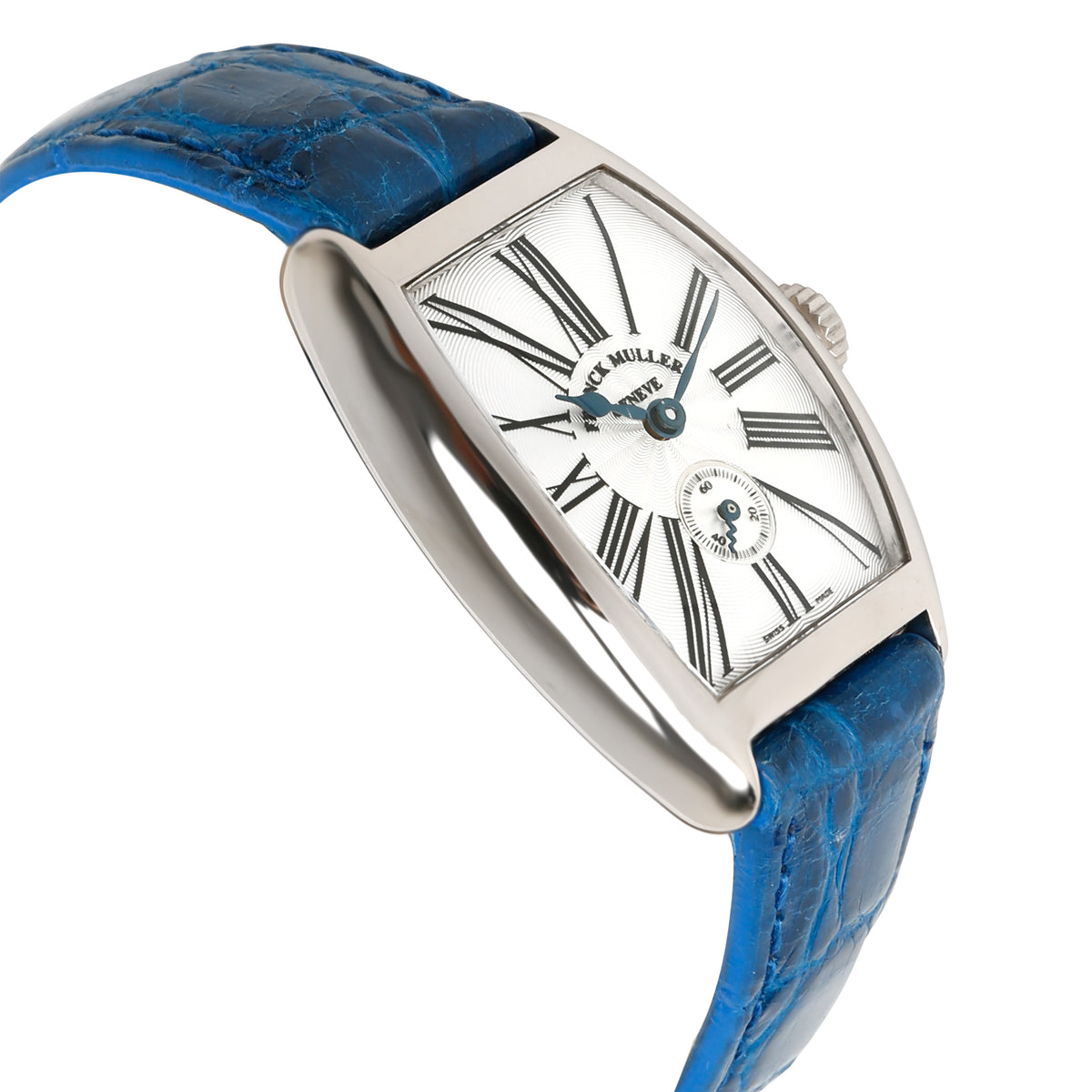 Franck Muller Cintree Curvex 1750 S6 Women's Watch in 18kt White Gold