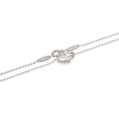 Tiffany & Co. Elsa Peretti Open Heart Pendant in  Sterling Silver