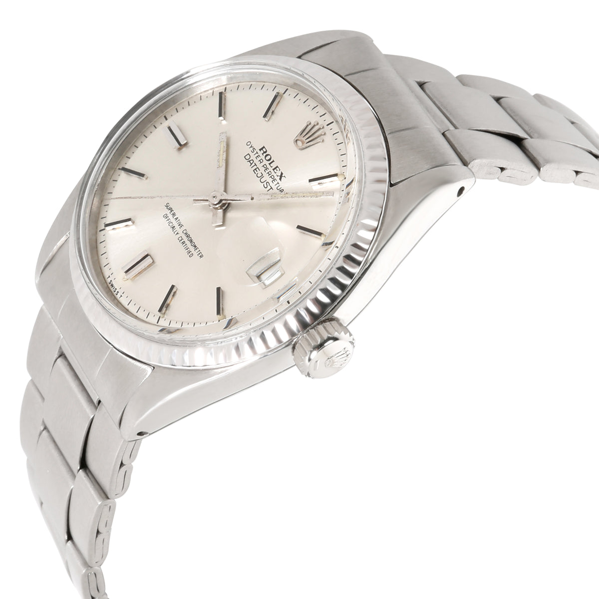Rolex Datejust 1601 Men's Watch in  Stainless Steel