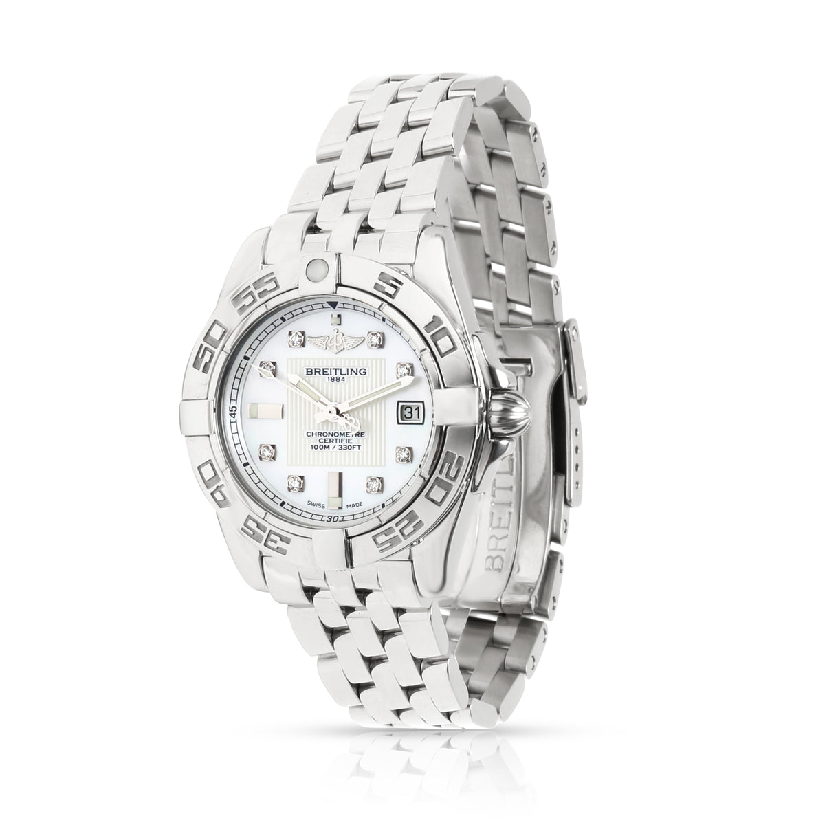 Breitling Galactic 32 A71356L2/A708 Women's Watch in  Stainless Steel