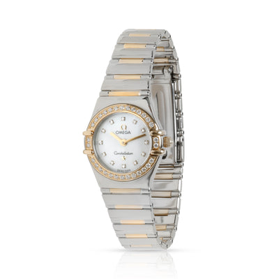 Omega Constellation 1365.75.00 Women's Watch in 18kt Stainless Steel/Yellow Gold