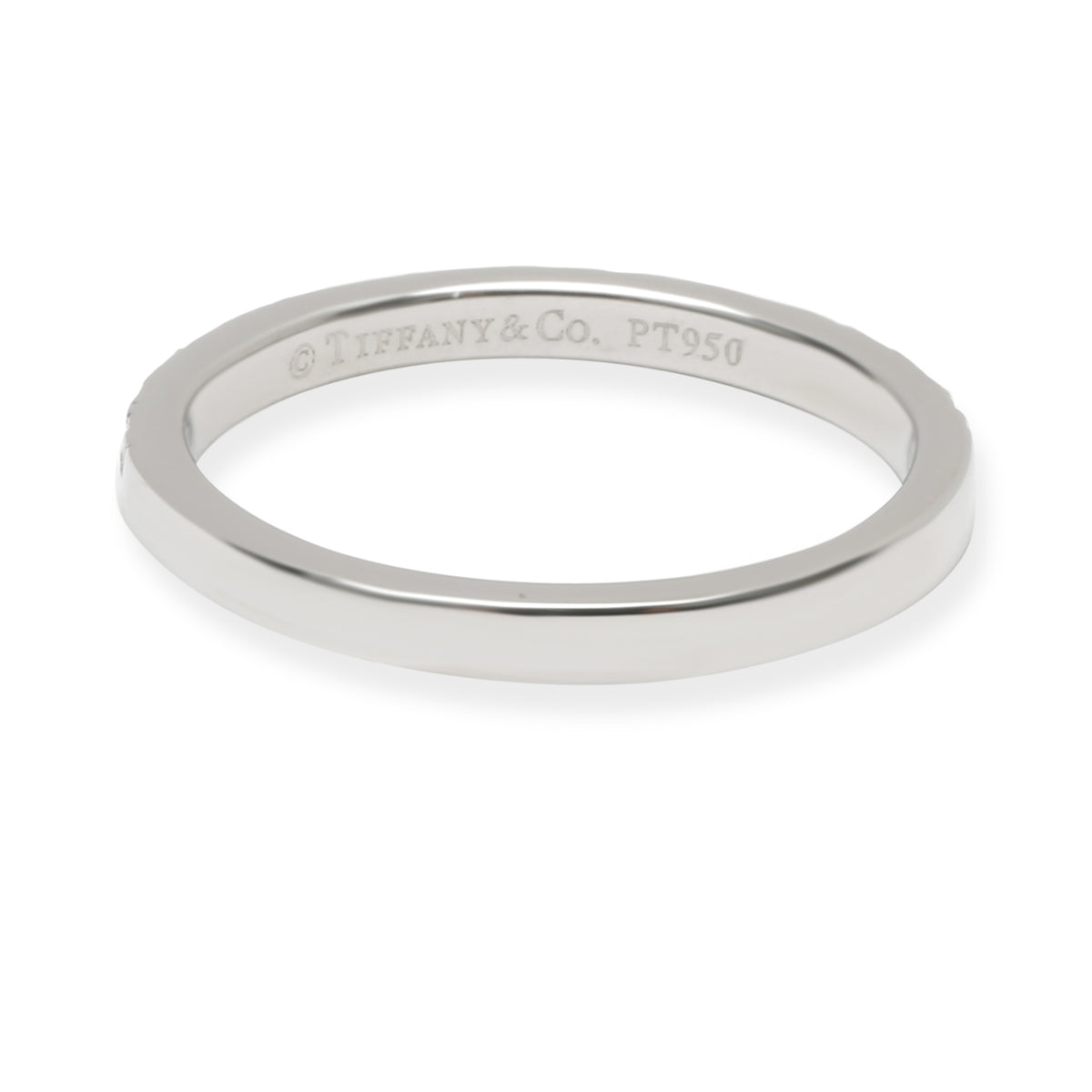 Tiffany & Co. Soleste Diamond Wedding Band in  Platinum 0.17 CTW