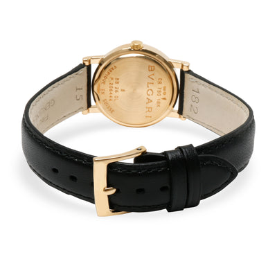 Bulgari Bvlgari Bvlgari BB26GL Women's Watch in 18kt Yellow Gold
