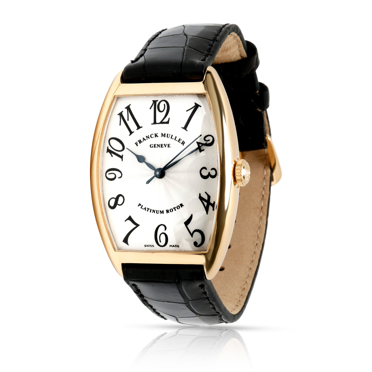 Franck Muller Cintree Curvex 2852 SC Unisex Watch in 18kt Yellow Gold