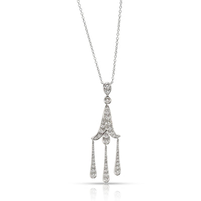 Tiffany & Co. Jazz Diamond Necklace in Platinum (1.00 CTW)