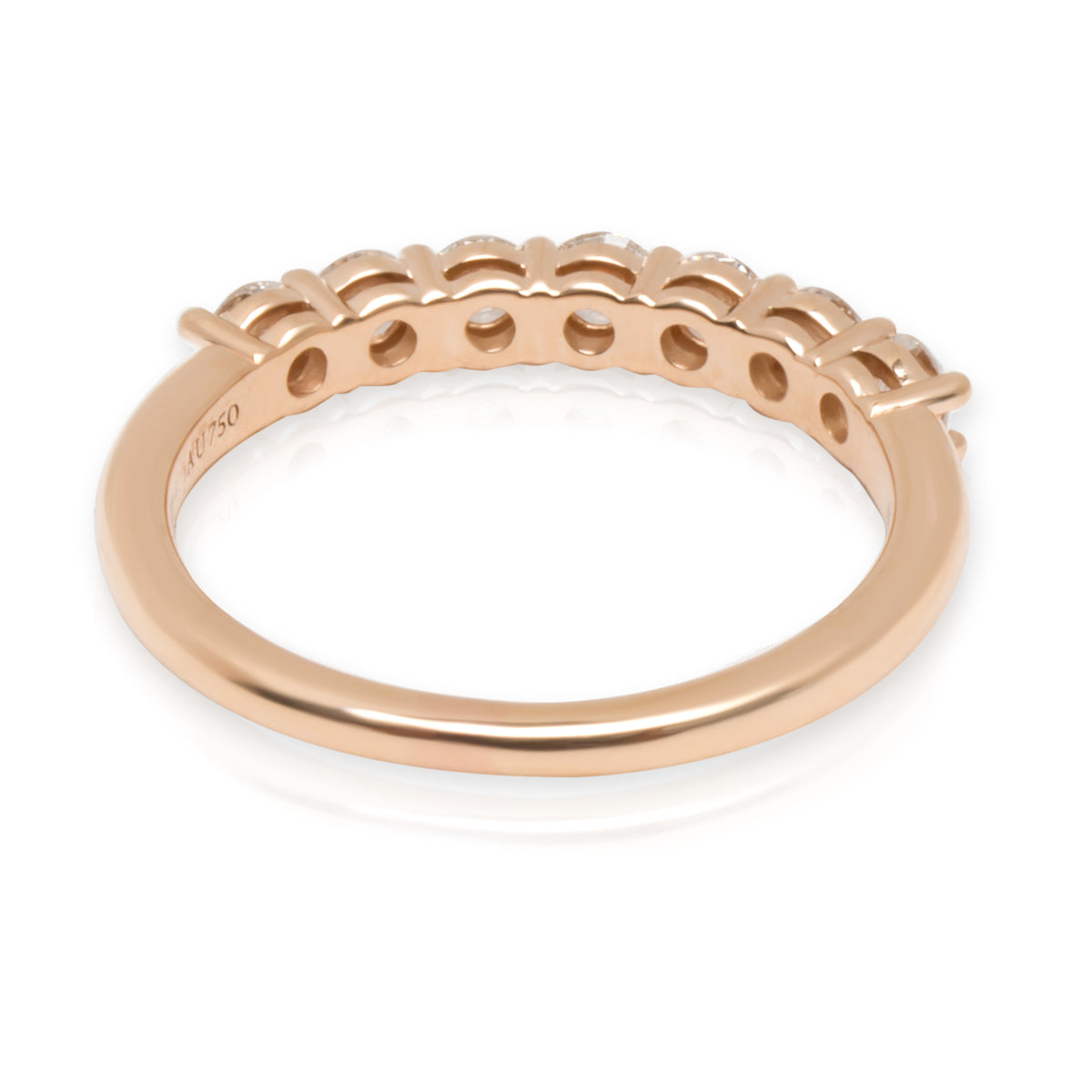 Tiffany & Co. Embrace Diamond Wedding Band in 18KT Rose Gold 0.57 CTW