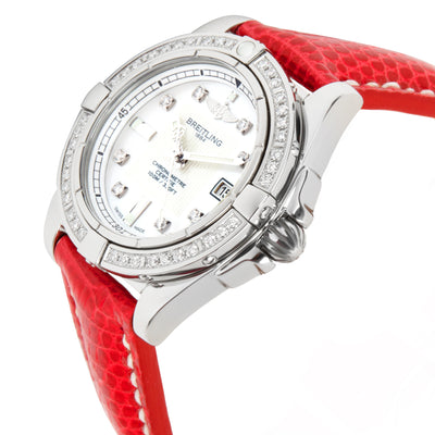 Breitling Galactic A71356 Women's Watch in  Stainless Steel
