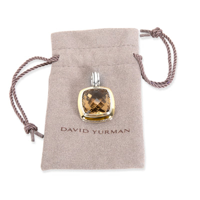 David Yurman Citrine Pendant in 18K Yellow Gold/Sterling Silver Champagne