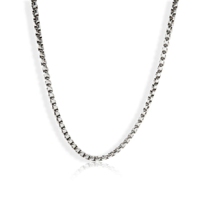 David Yurman Box Chain in Sterling Silver (3.6 mm)