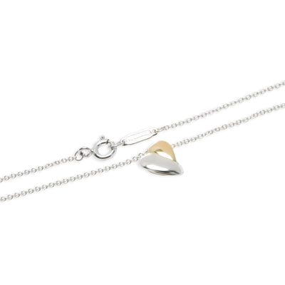 Tiffany & Co. Leaf Pendant in  Sterling Silver