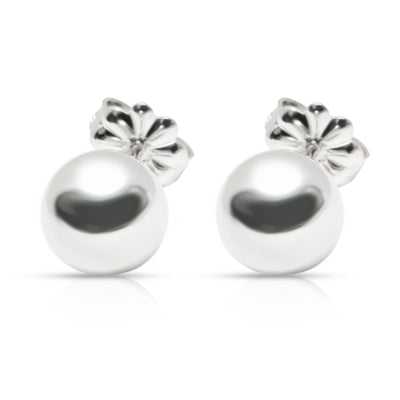 Tiffany & Co. Ball Hardware Stud Earrings in  Sterling Silver