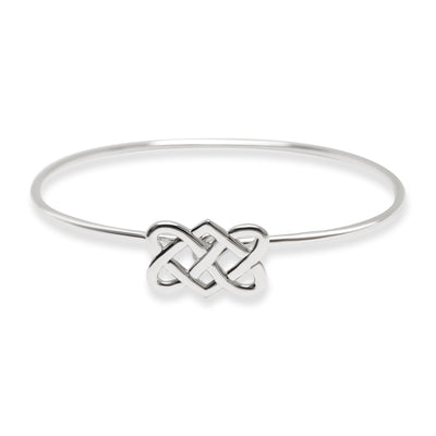 Tiffany & Co. Celtic Love Knot Bangle in Sterling Silver