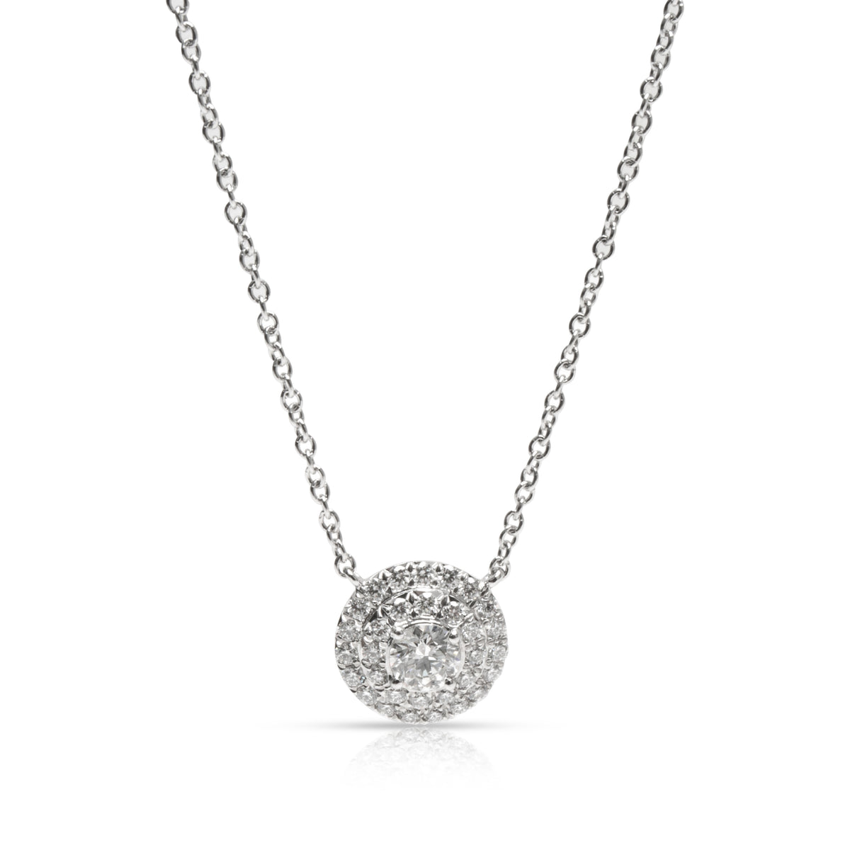 Tiffany & Co. Soleste Diamond Pendant in Platinum (0.30 CTW)
