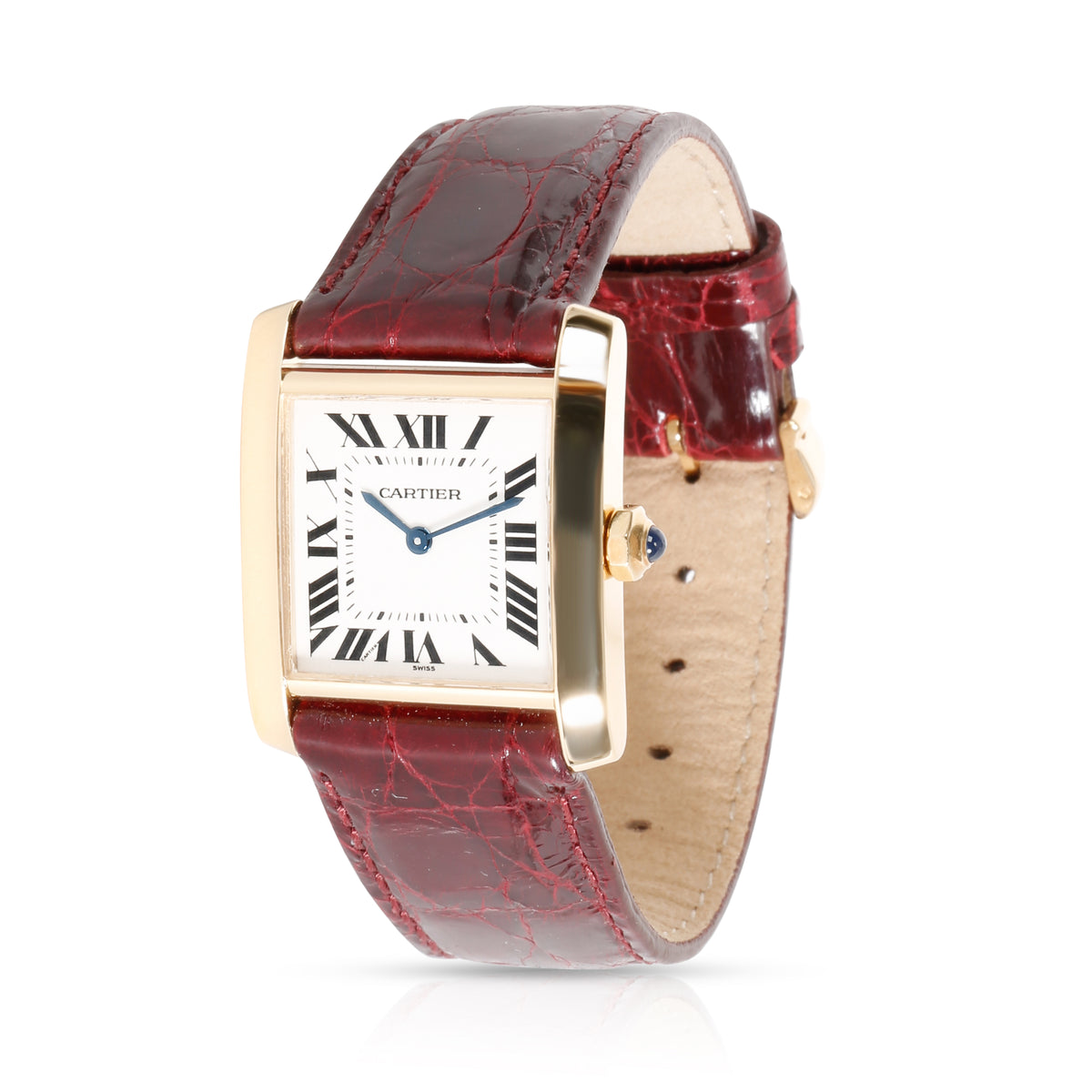 Cartier Tank Francaise W5000356 Women's Watch in 18kt Yellow Gold