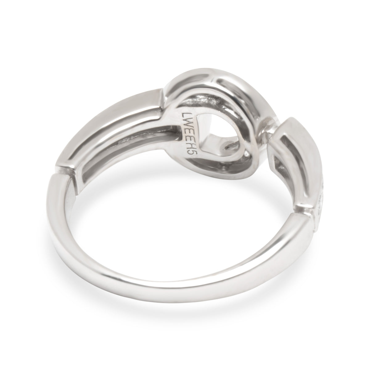 Bulgari Bulgari Diamond Ring in18K White Gold (0.29 CTW)