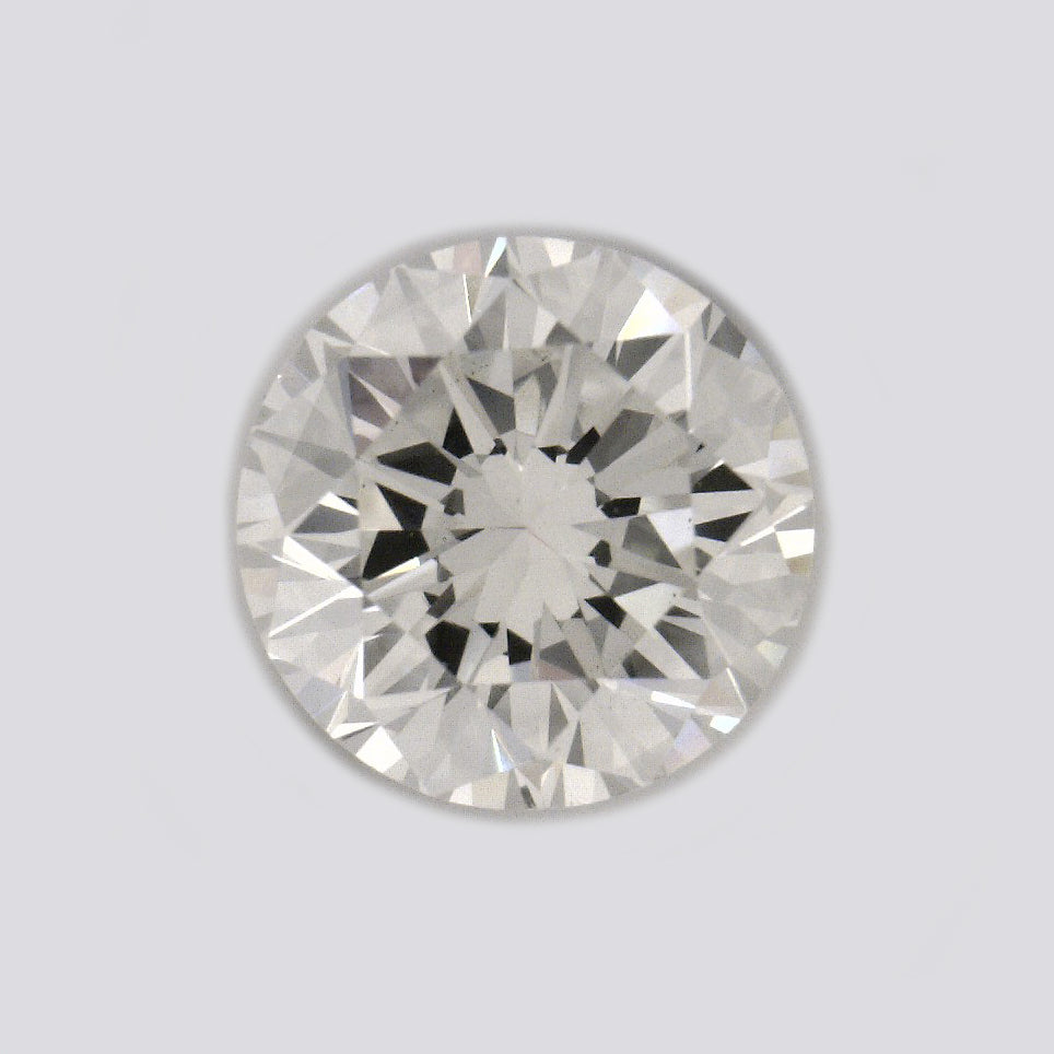 Certified Round cut, W2 color,  clarity, 0.57 Ct Loose Diamonds