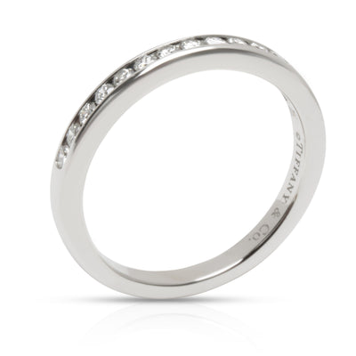 Tiffany & Co. Channel Set Diamond Wedding Band in Platinum 0.17 CTW