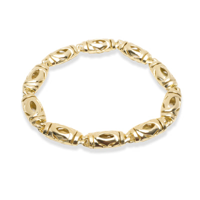 Cartier Vintage Double C Bracelet in 18KT Yellow Gold