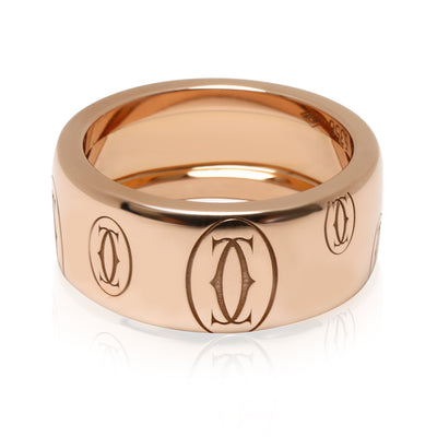 Cartier Logo de Cartier Band in 18KT Rose Gold