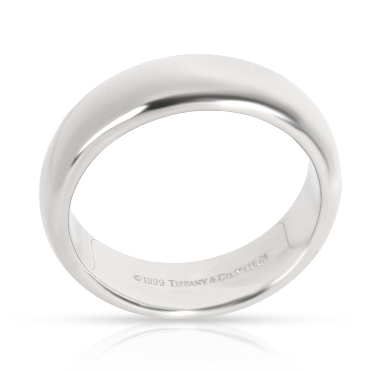 Tiffany & Co. Classic Men's Wedding Band in  Platinum 6mm