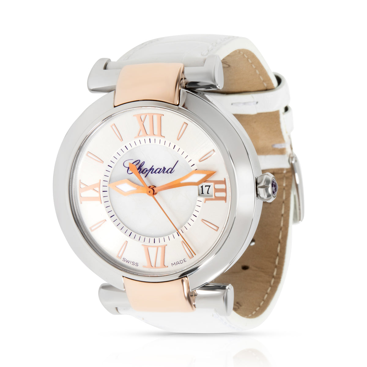 Chopard Imperiale 388532-6001 Unisex Watch in 18kt Stainless Steel/Rose Gold