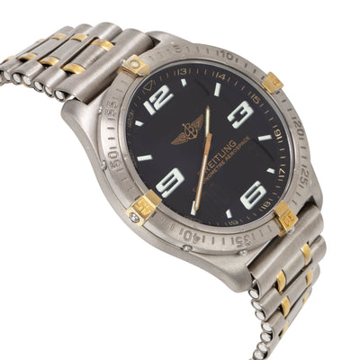 Breitling Aerospace F75362 Men's Watch in 18kt Titanium/Yellow Gold