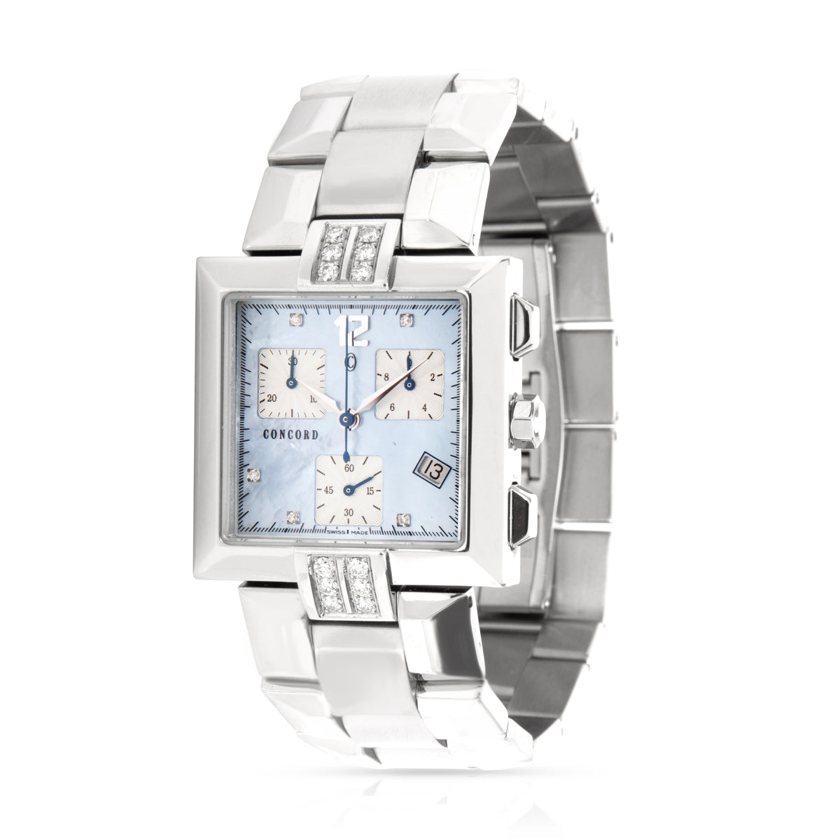 Concord La Scala 14 H1 1371 S Unisex Watch in  Stainless Steel
