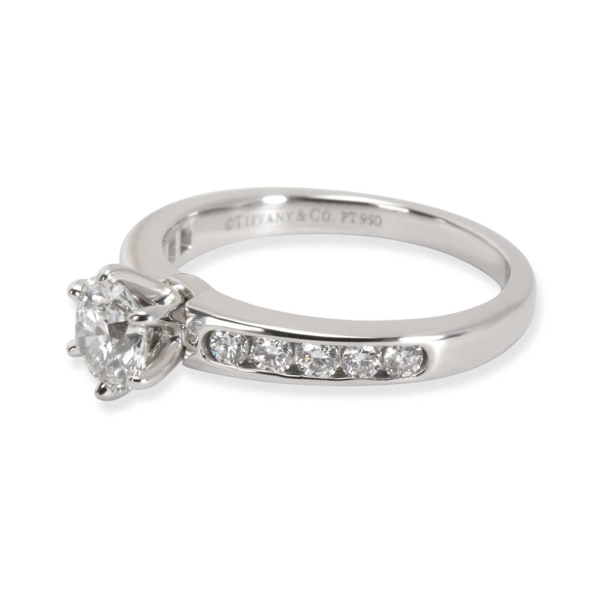Tiffany & Co. Diamond Engagement Ring in Platinum I/VS1 1.14 CTW