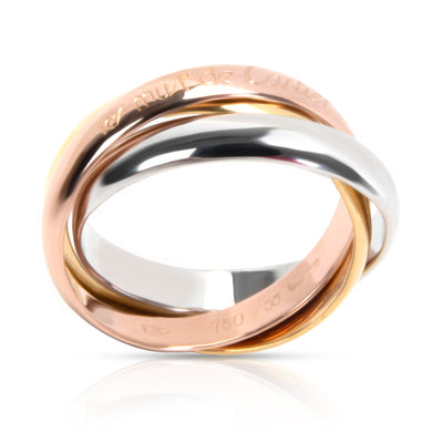 Cartier les must de Cartier - Trinity ring, classic Ring in 18K 3 Tone Gold