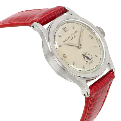 Patek Philippe Calatrava 624530 Women's Watch in  Stainless Steel