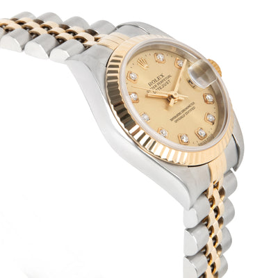 Rolex Datejust 79173 Women's Watch in 18kt Stainless Steel/Yellow Gold