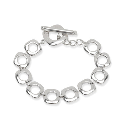 Tiffany & Co. Square Toggle Bracelet in Sterling Silver
