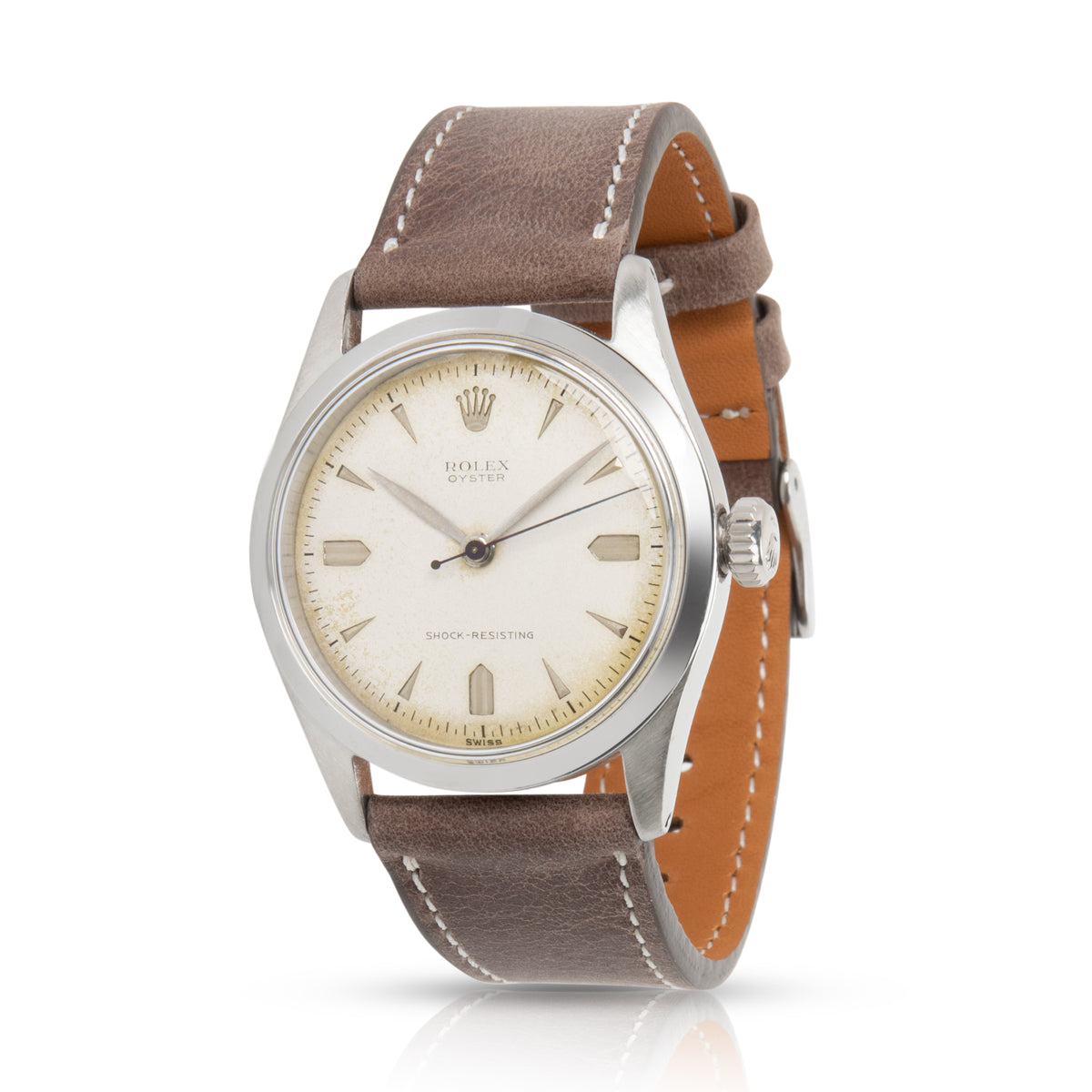 Rolex Oyster 6282 Men's Watch in  Stainless Steel