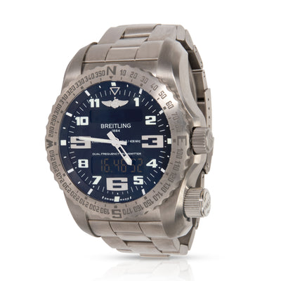 Breitling Emergency E7632522/BC02/159E Men's Watch in  Titanium