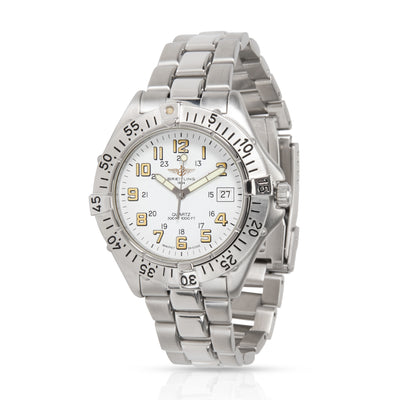 Breitling Colt A57035 Men's Watch in  Stainless Steel