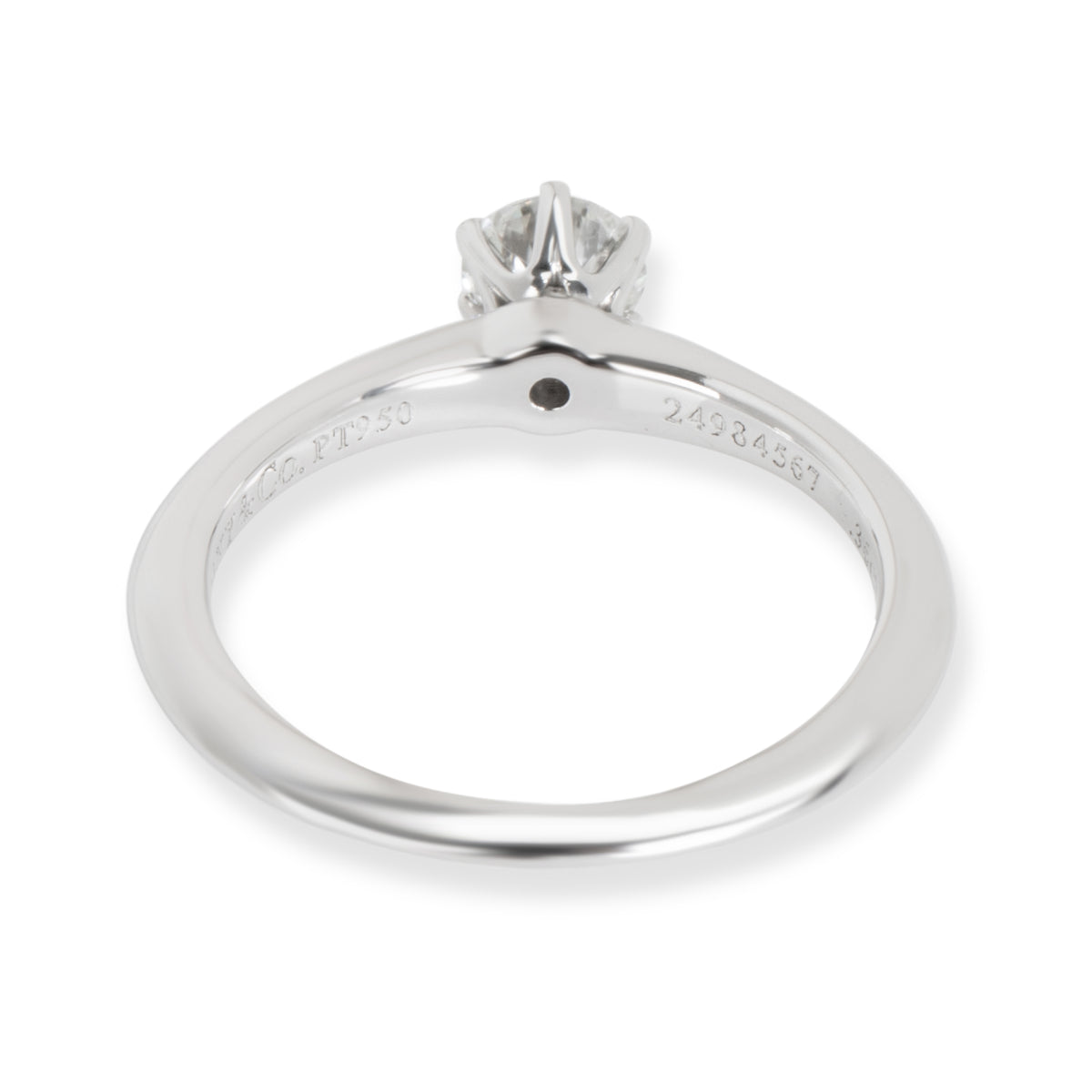 Tiffany & Co. Diamond Engagement Ring in Platinum (0.36 ct H/SI1)