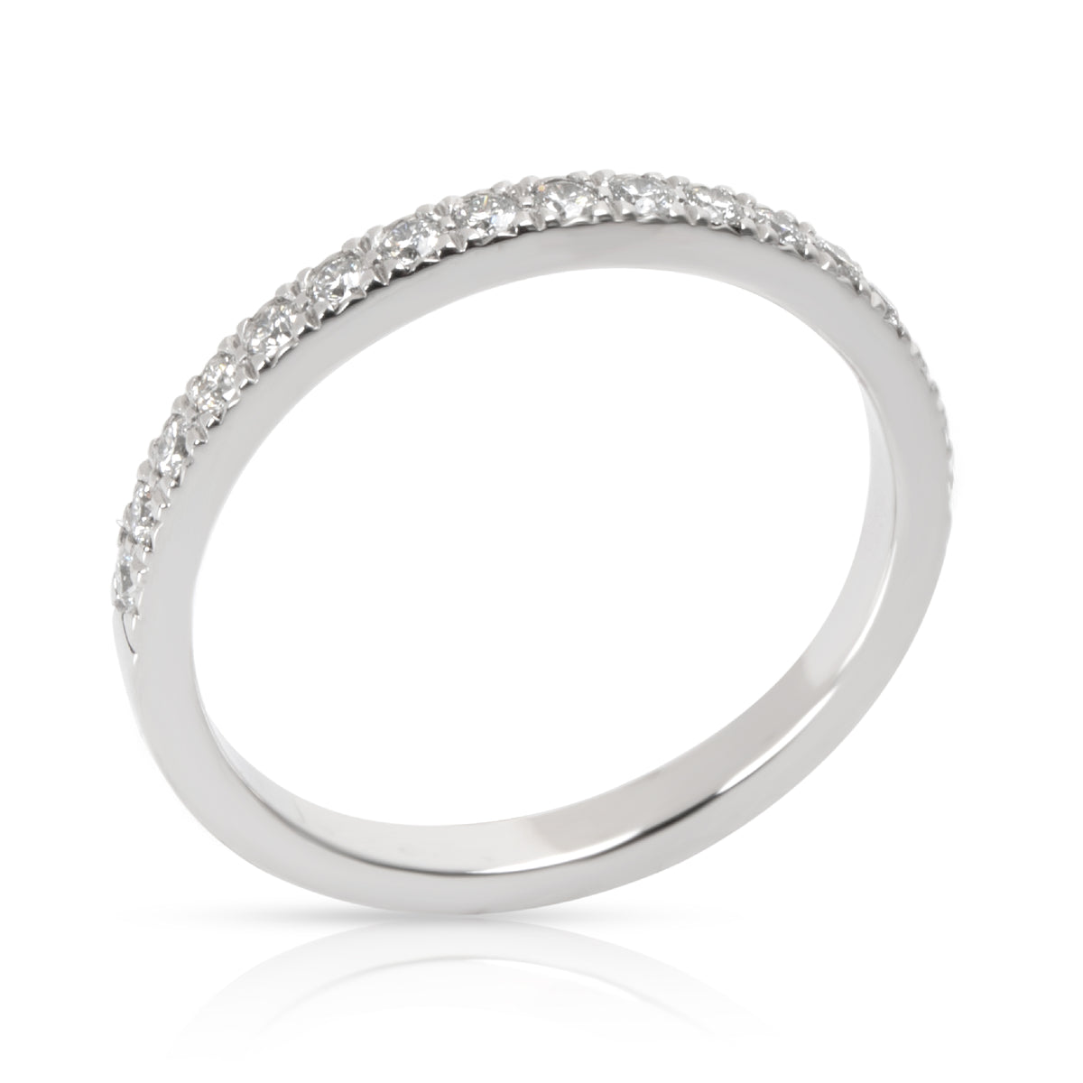 Tiffany & Co. Novo Diamond Wedding Band in Platinum 0.25 CTW